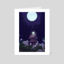 Forest Guardian - Art Card by H Won