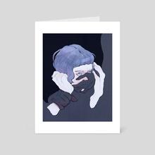Silence - Art Card by Domna