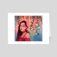BP Rose - Art Card by Jnai