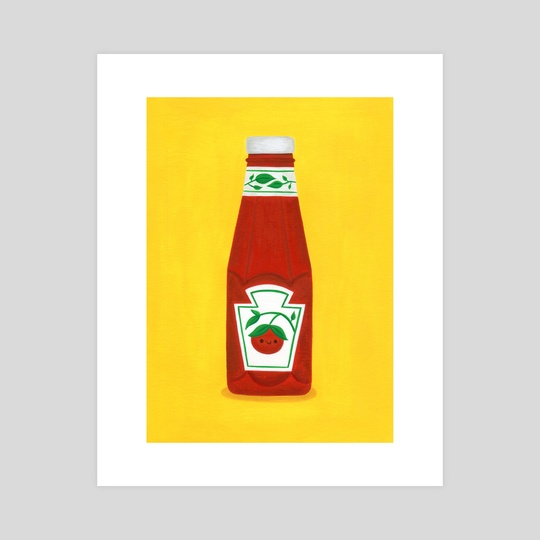 Ketchup by Nellie Le