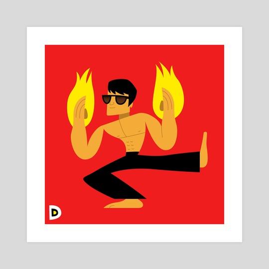 Bruce Lee by Chris Bishop
