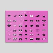 The Breast Test - Acrylic by jennifer daniel