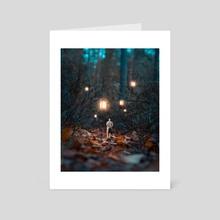 Light The Path - Art Card by Anttoni Salminen