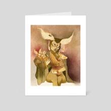 Moth Midwife - Art Card by Tanya Puzikova