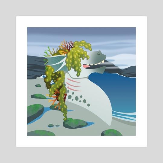 Silly Bestiary : Kelpie by Valériane Duvivier