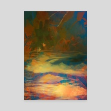Arduous Journey - Canvas by LS Drake