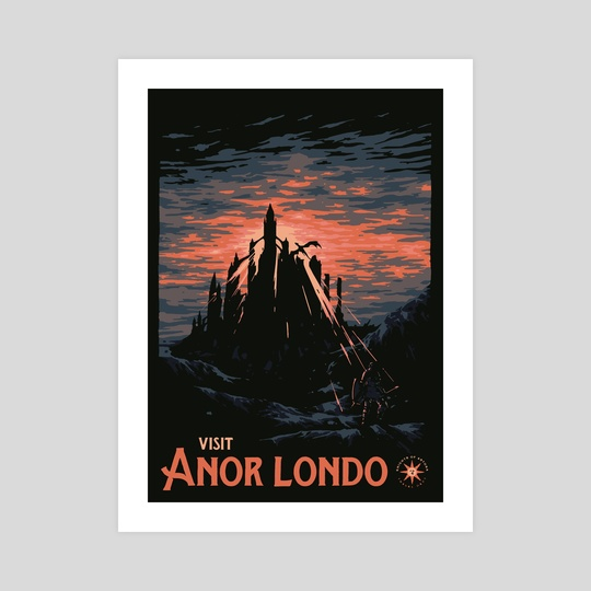 Vist Anor Londo by Matheus Lopes