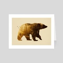 Into the Wild - Art Card by Enkel Dika
