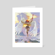 Guardian Angel - Art Card by Mark Molchan