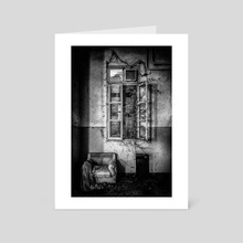 This is the way, step inside - Art Card by Traven Milovich