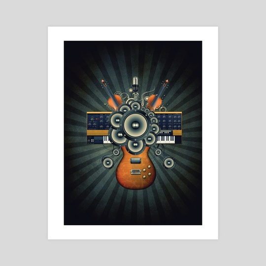 My Music Wall by Bdesign