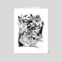 Ominous Farewell - Art Card by Renzo Razzetto