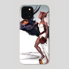 Dragon Queen - Phone Case by Serena Archetti