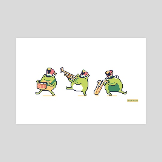 Frog band by finch