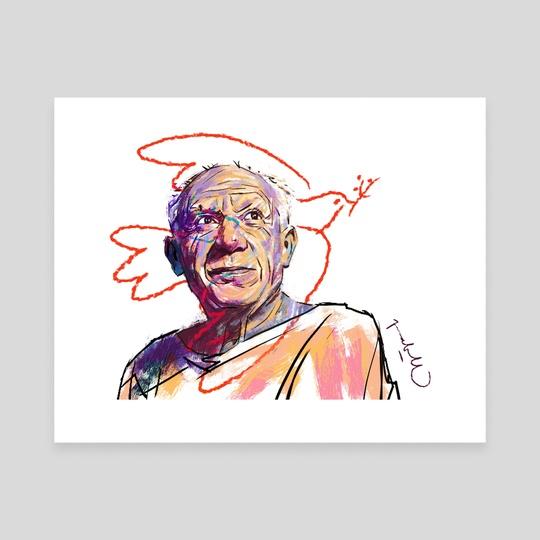 Pablo Picasso by Pablo Correa