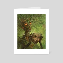 The Mask - Art Card by Harkalé Linaï