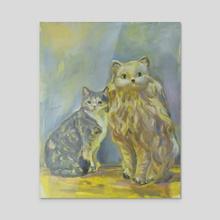 Stella and Burt - Acrylic by ufoCathy