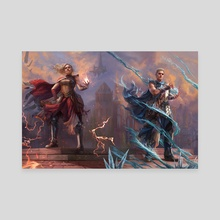 Panorama - Rowan & Will for Strixhaven  - Canvas by Magali Villeneuve