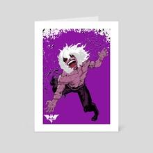 Symbol of Fear - Art Card by BatmAndrew