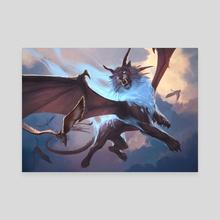 Skycat Sovereign - Canvas by Slawomir Maniak