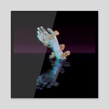 Shadows - Acrylic by Lilo Bee