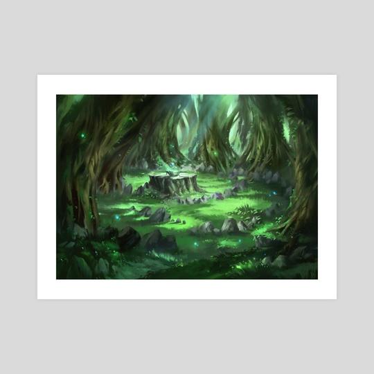 Magical Glade by Nele Diel