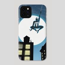 Spider-Man Black suit - Phone Case by Dani Parker