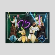 The High Republic Wave 2 - Canvas by Jake Bartok