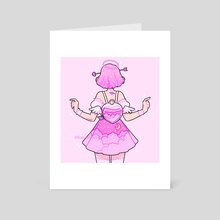 valentines angel - Art Card by fresh_bobatae