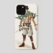 The Suicidal Blockhead - Phone Case by Deniz Akerman