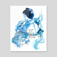 The Passed (Genjimonogatari) - Acrylic by Maiji/Mary Huang