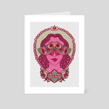 Eye Spy - Art Card by Kassandra Ruiz-Wise