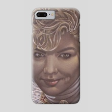Joan of Arch - Phone Case by Lawrence Jones