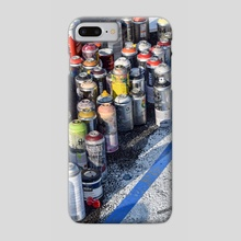 An Artist's Tools - Phone Case by Alex Tonetti