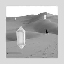 Crystal Desert - Canvas by Jeremy Wittber