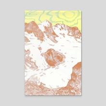 Float - Acrylic by h babett