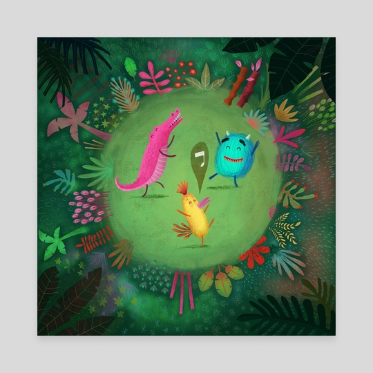 Jungle Dancers by Denise Turu
