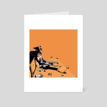 Channel Orange - Art Card by Madqaps Art