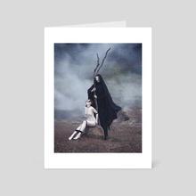 Blot II - Art Card by Daria Endresen