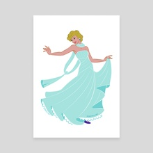 Cannes Princess - Canvas by Ryan Jude Novelline