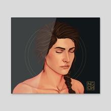 Kassandra - Acrylic by NgenoART