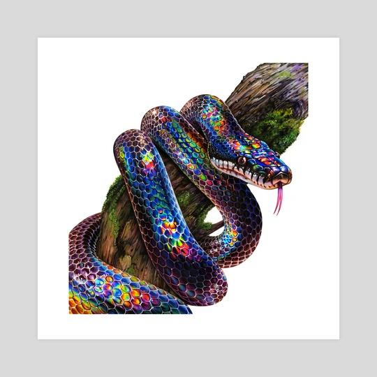 Rainbow Snake by Morgan Davidson