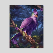 Mystic Bird - Canvas by Andrew Cefalu