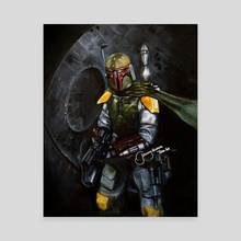 BobaFett of the 501st Legion - Canvas by MEL.F.DOOM