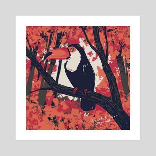 Toucan by Birgitte Johnsen
