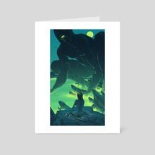 Albatross - Art Card by Taychin Dunn