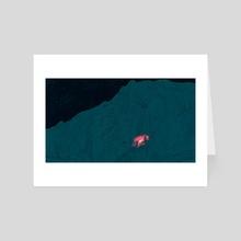 Mountainside - Art Card by Laurent Hrybyk