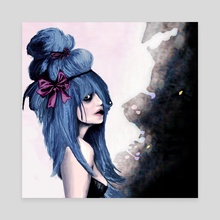 Harajuku style - Canvas by Rouble Rust