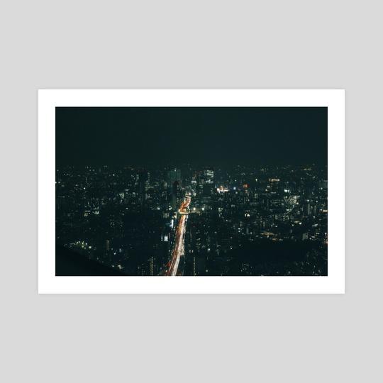 Tokyo after dark by Angelo González