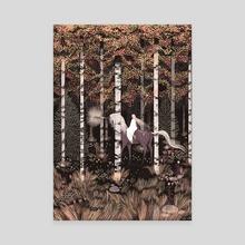 Autumn Forest  - Canvas by Emmi-Riikka